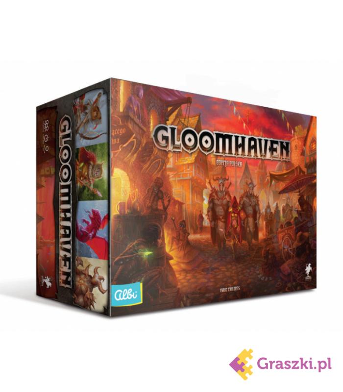Przedsprzedaż: Gloomhaven (edycja polska)
